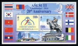 Mongolia 2016 Asem 11, MNH - Mongolia