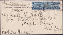1927-H-23 CUBA REPUBLICA. 1927. SOBRE CENTRAL AMERICA A US IN 1935. SUGAR MILLS. - Lettres & Documents