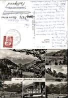 366657,Gruß Vom Streichen Gasthaus Kirche Schleching Ettenhausen Mehrbildkarte