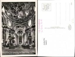 366821,Benediktiner Stift Altenburg B. Horn Kirche Innenansicht Kuppel - Autriche
