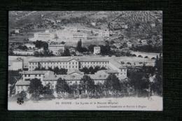 DIGNE - Le Lycée Et Le Nouvel Hôpital - Digne