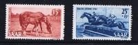 1949  Chevaux  Yv 253-4  ** MNH - Neufs
