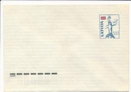 Mi U24I Mint Stationery Ganzsache Entier Envelope - Latvia