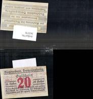 363378,Privatnotgeld Notgeld Buchdruckerei Herzogenburg Serie 3 20 Heller Gutschein - Oesterreich