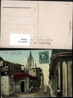 368840,Kuba Cuba Habana Havana Old Narrow Streets Straßenansicht Kirchenturm - Ansichtskarten