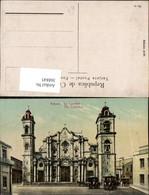 368845,Kuba Cuba Habana Havana The Cathedral Kirche - Ansichtskarten