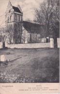 AK Kruglanken Kruklanki - Kirche - Turm Durch Granaten Zerstört - Feldpost - WW1 (23873) - Ostpreussen