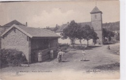 Melecey - Place De La Fontaine - Non Classés