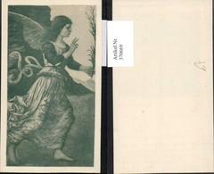 370669,Künstlerkarte Engel Kleid - Engel