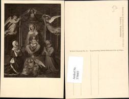 370683,Künstler AK Führich Waldesruhe Religion Maria M. Jesuskind Engeln Zither - Engel