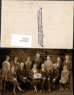 370753,Foto AK Hochzeit Hochzeitsfoto Gruppenbild Pub Foto M. Humer Natternbach - Hochzeiten
