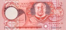 TONGA 2 PA'ANGA ND (2001) P-32d UNC  [TO207d] - Tonga