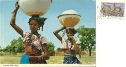 NIGERIA  Nigerian Milk-Maids  Mungitrice  Breast  Nice Stamp - Nigeria
