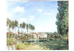 Alfred Sisley : Moret, Bords Du Loing - Malerei & Gemälde