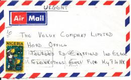 Nigeria Air Mail Cover Sent To England - Nigeria (1961-...)