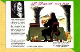 BUVARD & Blotting Paper : Santé Sobriete B. PASCAL  Literature Et Philosophie  N°18 - Limonades