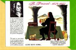 BUVARD & Blotting Paper : Santé Sobriete B. PASCAL  Literature Et Philosophie  N°18 - Softdrinks