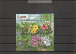 Fleurs ( 2900/2905 XXX -MNH- De Corée Du Nord) - Vegetales
