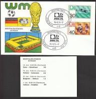 Germany Dortmund 1974 / Soccer, Football / World Championship Germany 1974 / Westfalen-Stadion - Coppa Del Mondo