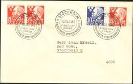 Sweden - FDC 10/12 1946 Alfred Nobel - FDC