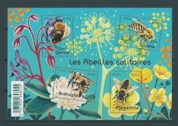France 2016 ** Bloc Bees Abejas Abeilles Apiculture Abeille Collete Osmie Anthophare Megachile - Abeilles