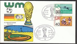 Germany Muenchen 1974 / Soccer, Football / World Championship Germany 1974 / Olympiastadion - Coppa Del Mondo