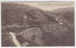 THIERS - Viaduc Du Grand Tournant Et Rte De Lyon - Gorges De La Durol / 2063 - Thiers