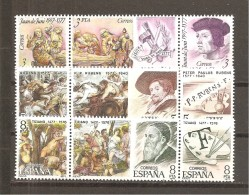 España/Spain-(MNH/**) - Edifil  2460-68 - Yvert 2105-13 - 1971-80 Nuevos & Fijasellos