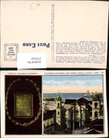 375162,Cuba Havana Columbus Cathedral And Morro Castle Tablet Kirche Mehrbildkarte - Ansichtskarten