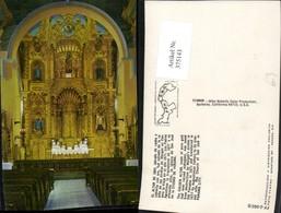 375143,Panama City Iglesia Church Of San Jose Golden Altar Kirche Innenansicht - Panama