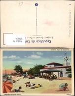 375176,Cuba Habana Havana Playa De Marianao Beach Strand Strandleben - Ansichtskarten