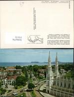 375172,Panama City Federico Boyd Avenue Bella Vista And Via Espana With Church Kirche - Panama