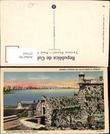 375163,Cuba Habana Havana Avenida Del Golfo Desde El Morro Castle Festung - Ansichtskarten