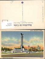 375174,Cuba Habana Havana Monumento Al Maine Denkmal - Ansichtskarten