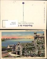 375164,Cuba Habana Havana Avenida Del Golfo Desde El Morro Castle Festung - Ansichtskarten