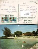 375166,Jamaica Montego Bay Private Beach At Sunset Lodge Strand - Ansichtskarten