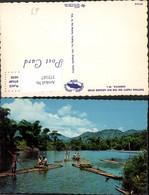 375167,Jamaica Rafting Party On The Rio Grande River Flöße Floß - Ansichtskarten