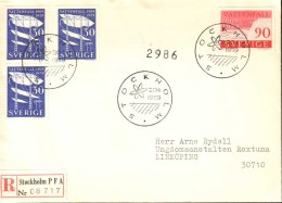Sweden - FDC 20/1 1959 Vattenfall 50 år - FDC