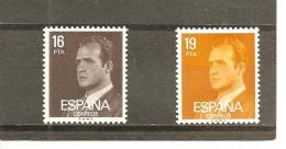 España/Spain-(MNH/**) - Edifil  2558-59 - Yvert 2204-05 - 1931-Hoy: 2ª República - ... Juan Carlos I