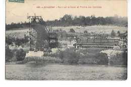 AINGERAY PONT SUR LE CANAL ET TREMIE - France