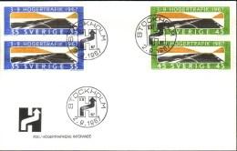 Sweden - FDC 2/9 1967 Högertrafikomläggningen *ILLUSTRATED* - FDC