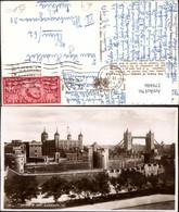 379486,England London Tower Of London Burg U. Gefängnis Brücke - England