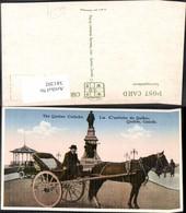 381202,Kutsche The Quebec Caleche La Celeche De Quebec Canada - Taxi & Carrozzelle
