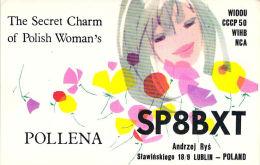 Amateur Radio QSL Card - SP8BXT - Poland - 1969 - 2 Scans - Radio Amateur