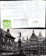 388412,Statue Monument Antwerpen Anvers Grote Markt En Brabo Grand Place Et Brabo - Monuments