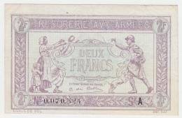 FRANCE 2 Francs 1917 VF++ Pick M3 - Treasury