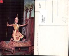 390353,Thailand Bangkok Khon A Thai Dramatic Performance Thailänderin Tanz - Thaïland