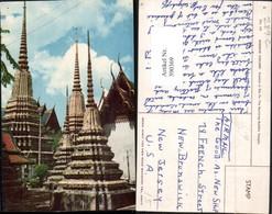 390369,Thailand Bangkok Scenery Of Wat Po Buddha Tempele Tempel - Thaïland