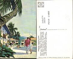 390539,Jamaica Kingston Hotel Sheraton Schwimmbecken Partie - Ansichtskarten
