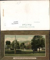 390507,New Zealand Neuseeland Dunedin Botanical Gardens Knox College Passepartout - Ohne Zuordnung